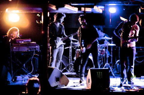 Yellow (rock) : concert au Batofar (Paris - 27/09/2011)